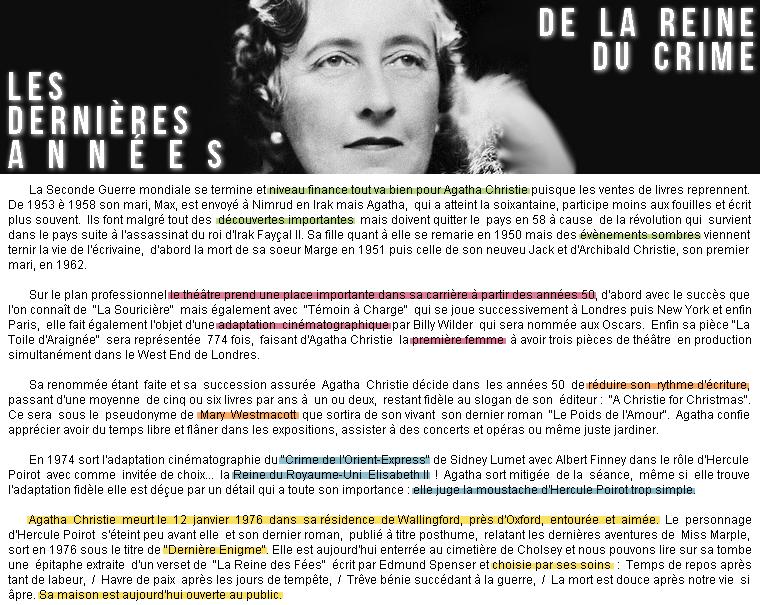 Littérature | Portrait : Agatha Christie