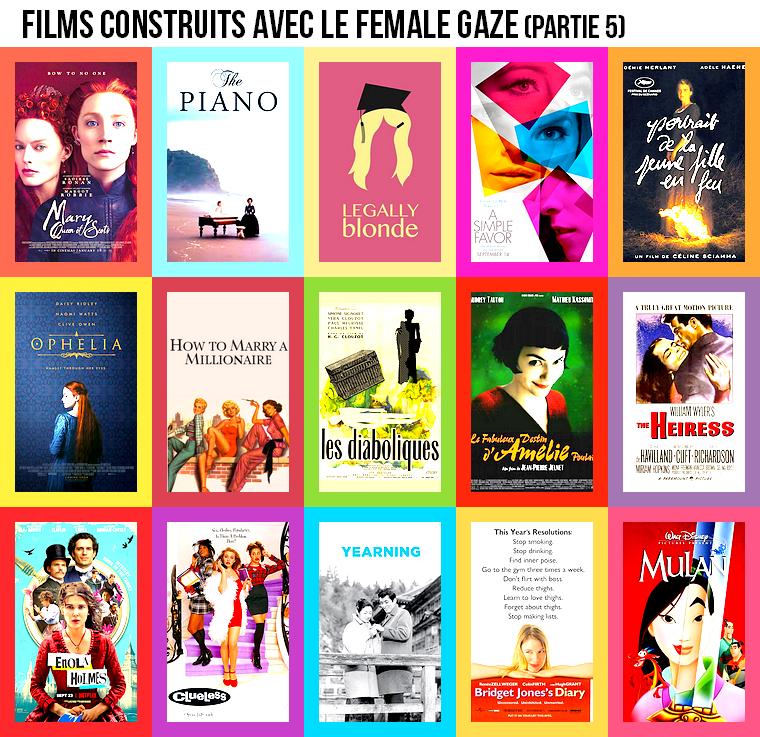 Cinéma | Films construits avec le female gaze