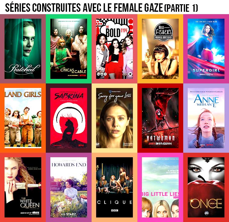 Série | Séries construites avec le female gaze