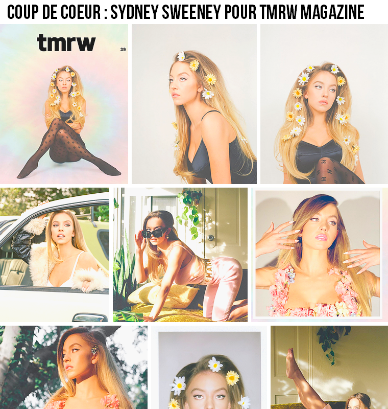 Autre | Coup de coeur : Sydney Sweeney pour tmrw magazine