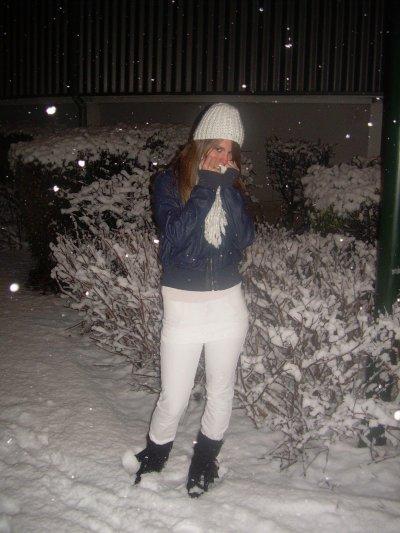 moi  ds la neige