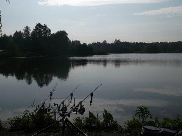 petite journé aujourdhui dans un lac fédéral . je ferai une touche pour une splendide commune VIERGE!!! de 6,5KG