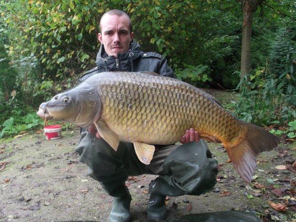 voila le big fish de cet session une memer de 15,5 kg et mon tou premier silure!!!!!!!!