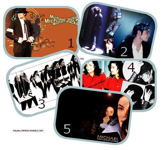Pack fonds d'écrans : Michael Jackson