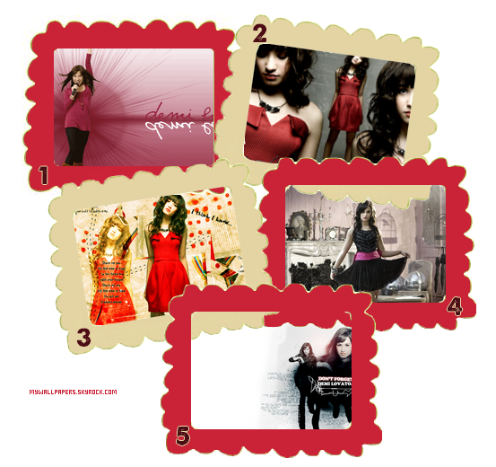 Pack fond d'écrans : Demi Lovato