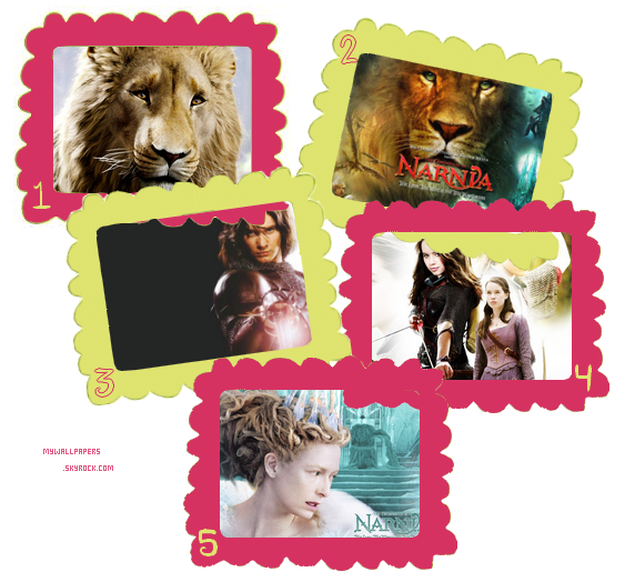 Pack fonds d'écrans : Narnia