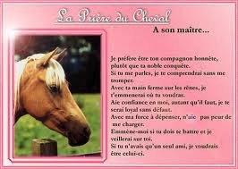 La prier du cheval