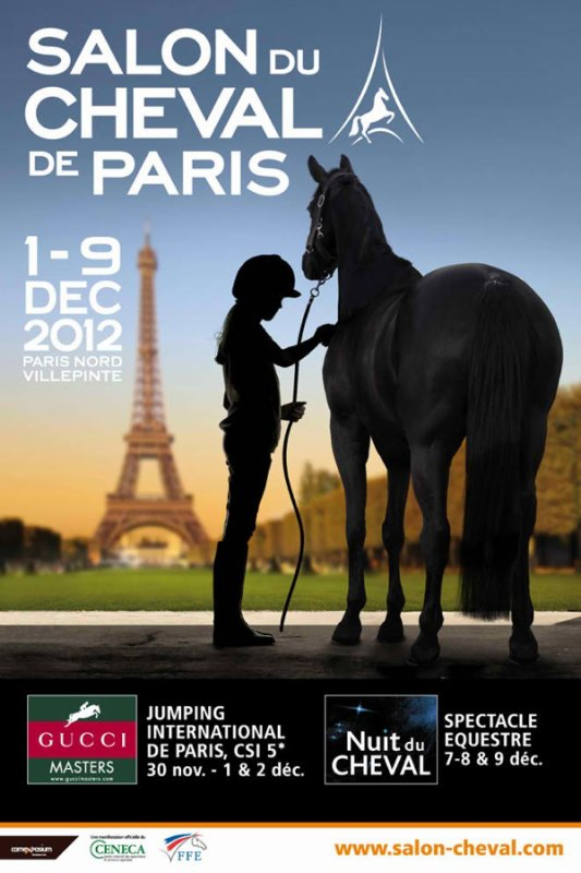 L'affiche salon du cheval 2012