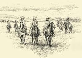 Voici cette d'un troupeau de chevaux