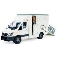 Type1Voici le véhicule transport de chevaux et poney