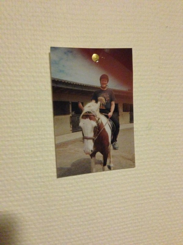 Se  cheval que j'ai  montée a la dierge