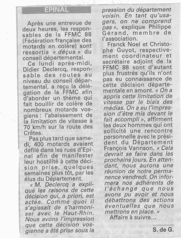 NEWS FFMC