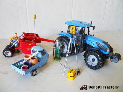 Mix of tractors