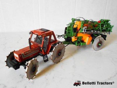 Fiatagri 110-90 DT & Amazone UX5200 Rice Version