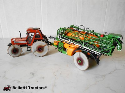 Fiatagri 110-90 DT & Amazone UX5200 Rice Version