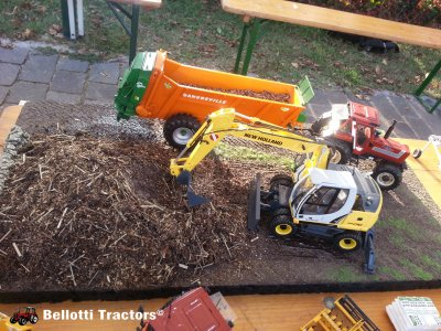 Agriculture Models Show in Carpiano, Milan (Italy)