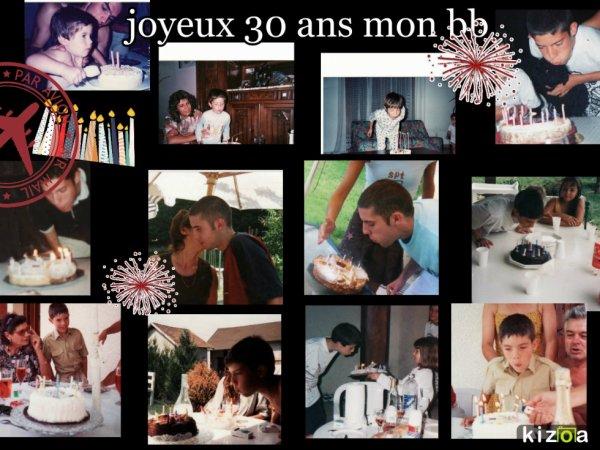 30 ans mon julien