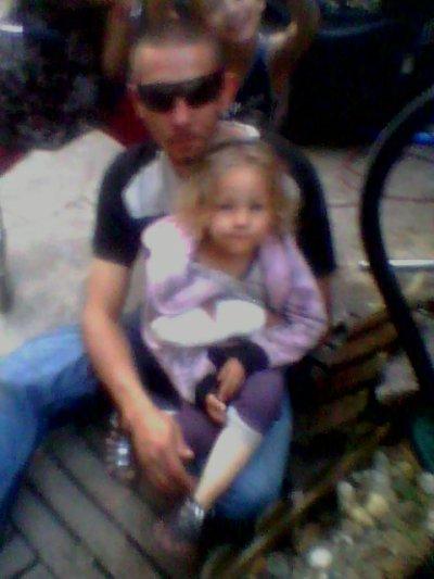 ma fille emeline et moi
