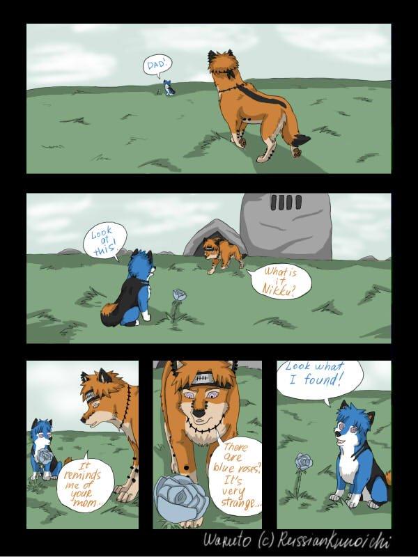 Bd des loups pages 9 à 16