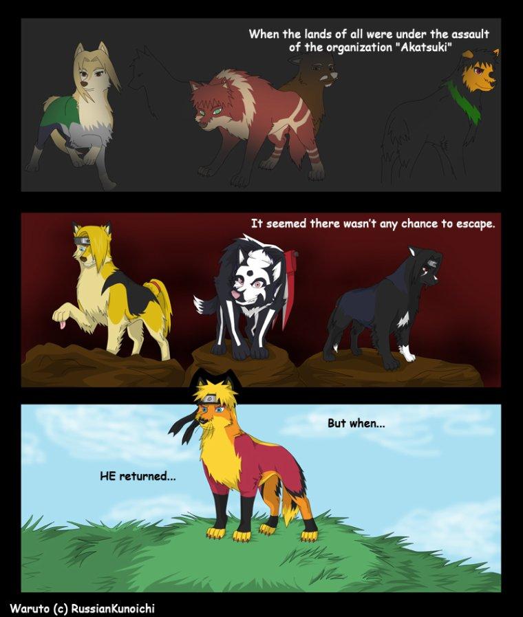 Bd des loups pages 17 à 24