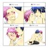 Natsu et Grey kissus