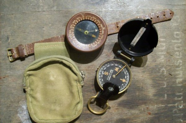 lot de boussole us. ORIGINAL WW2