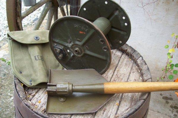 bobine de cable téléphonique DR-8-A ORIGINAL WW2