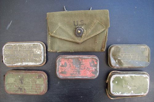 first aid packet original ORIGINAL WW2