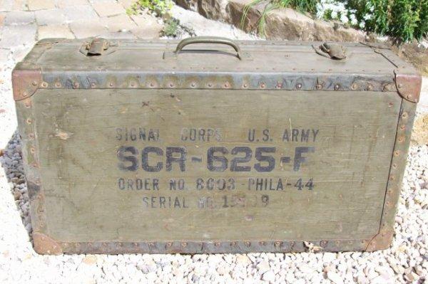détecteur de mines us. SCR-625   ORIGINAL WW2