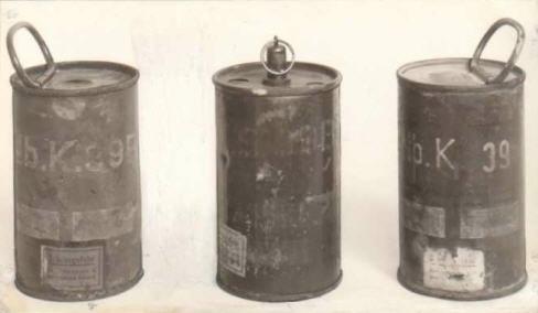 Pot fumigène Nebelkerze 39/39b