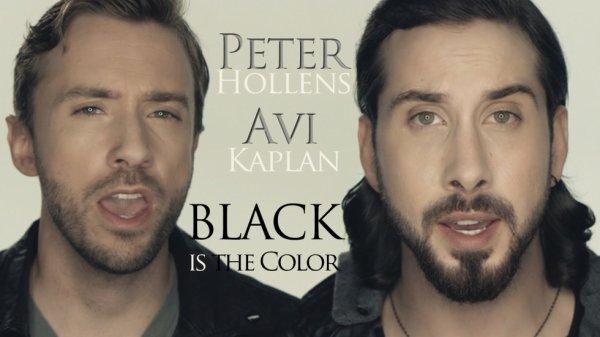 Peter Hollens & Avi Kaplan ~ Black is the color of my true love's hair.