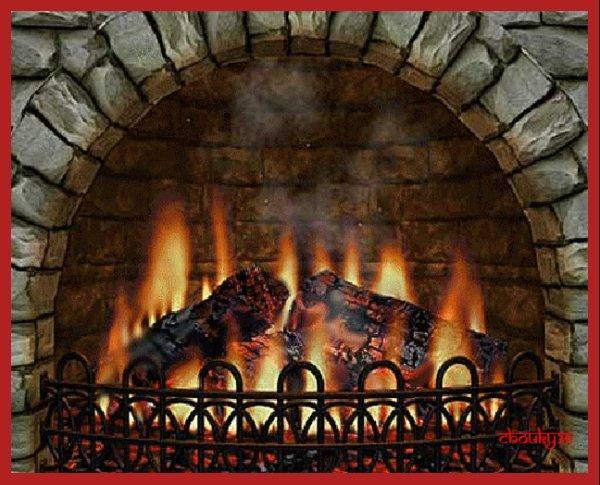 bonne soirée à tous avec un bon petit  feu   !!!