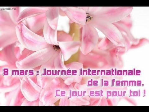 une pensée pour toutes les femmes demain    !!!