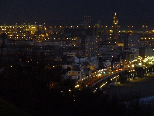 ma ville la nuit  , bonne semaine à tous   !!!