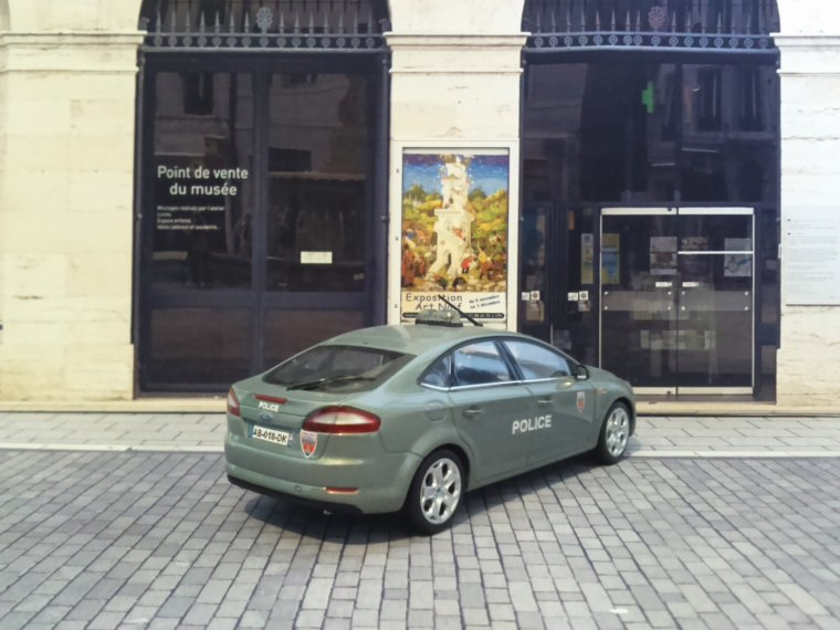 Police Nationale - Ford Mondeo BAC 75N