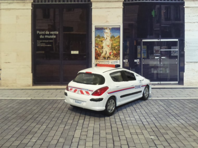 Douane  - Durisotti  - Peugeot 308