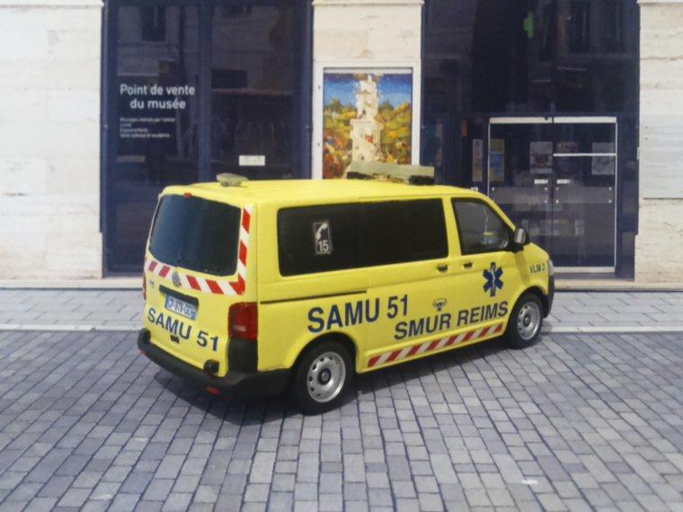SAMU 51 SMUR - REIMS (51) - VW T5 Multivan
