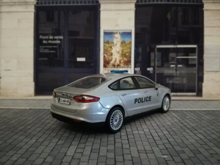 Police Nationale BAC 75N - Ford Mondeo