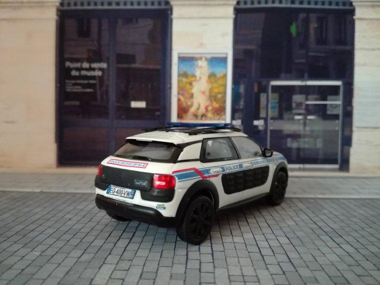Police Municipale de Fréjus 83 - Citroen  C4 Cactus