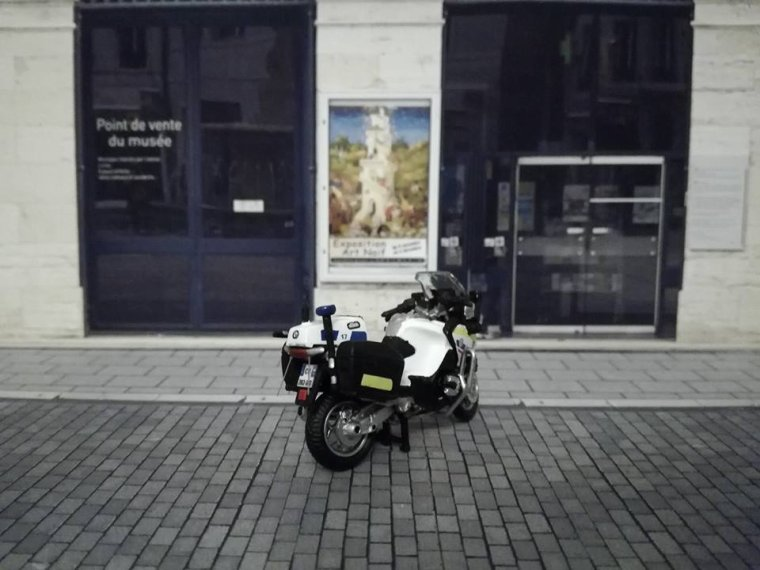 Police Nationale FMU 75  - BMW R1200 RT