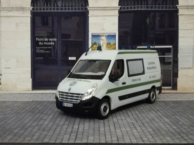 Police Nationale - Renault Master Antipollution PP