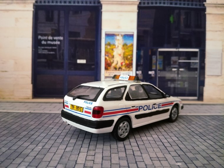 Police Nationale - Citroen Xsara Break