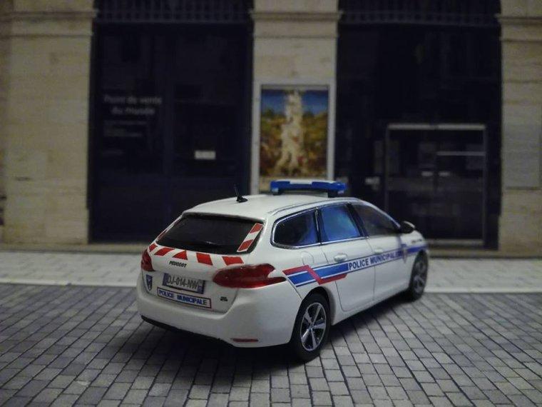Police Municipale d' Ozoir La Ferrière (77) - Peugeot 308 Sw
