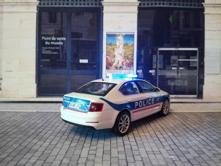 Police Nationale - Skoda Octavia Berline