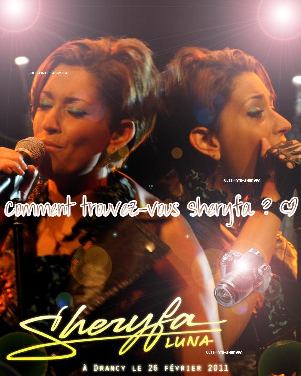 Concerts :     Sheryfa à Drancy !