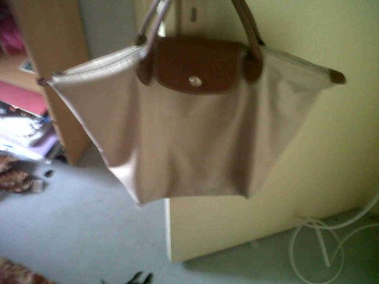 SAC LONGCHAMP BEiGE TAiLLE M