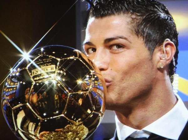 cristiano et son balon d or