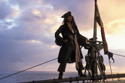 Le grand capitain d'Jack sparrow