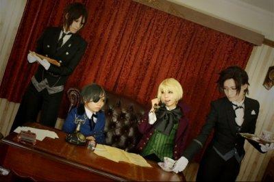 Ciel, Sebastian, Alois Et Claude