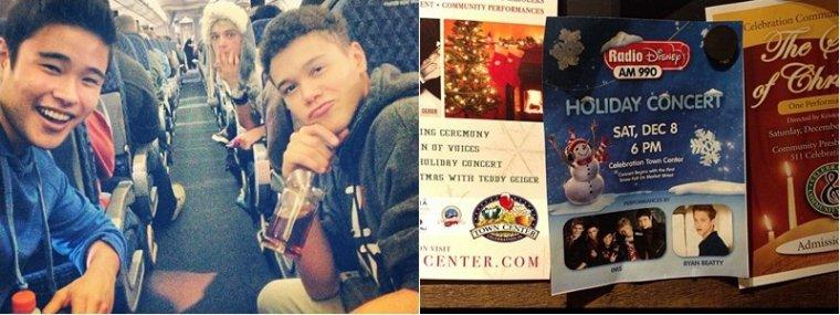 IM5 au 'Radio Disney Holiday Concert' le 8 Décembre 2012